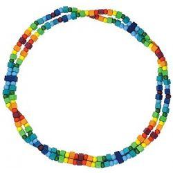 Detský náhrdelník dúhovy