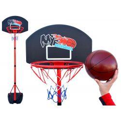 Veľký basketbalový kôš 240 cm + lopta
