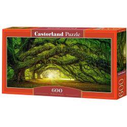 Castorland Puzzle Cesta pod stromami, 600 dielikov