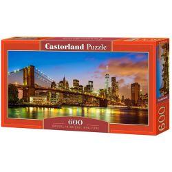 Castorland Puzzle Brooklynský most, 600 dielikov