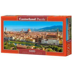 Castorland Puzzle Panoráma Florencie, 600 dielikov