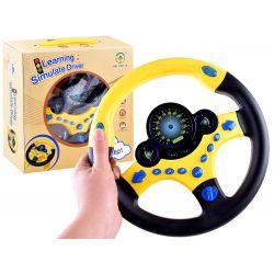 Interaktívny detský volant zo zvukom
