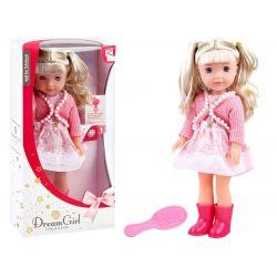 Elegantná bábika, rozpráva a spieva