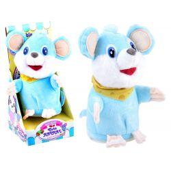 Hovoriaca opakujúca myška, modrá