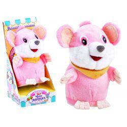 Hovoriaca opakujúca myška, ružová