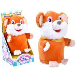 Hovoriaca opakujúca myška, oranžová