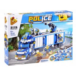 Stavebnica – Policajný nákladiak
