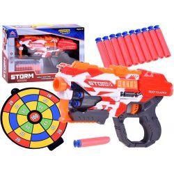 Zbraň Storm na penové náboje