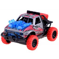 Kaskadérske auto Predator 4x4, červená