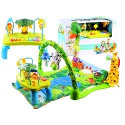 Interaktívna detská hracia deka + stolík 2v1