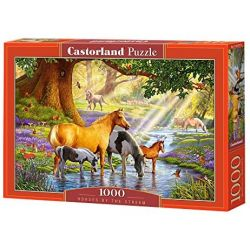 Castorland Puzzle Kone v rieke, 1000 dielov
