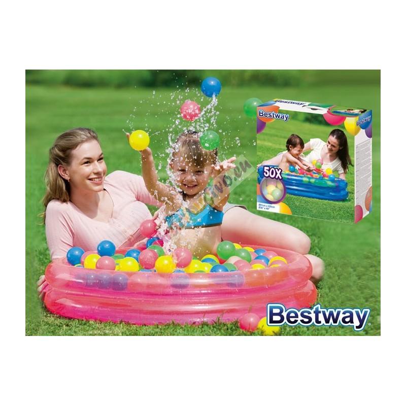 Nafukovací bazén 91cm + 50 loptičiek