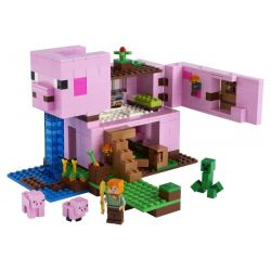 Lego Minecraft Prasiatkový domček
