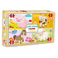 Puzzle Junior 4v1, farma