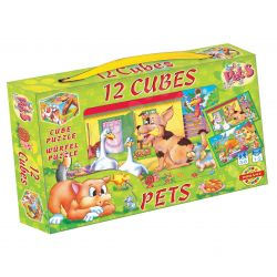 Kocky s obrázkami 6v1, zvieratá