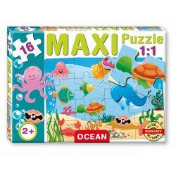 Maxi puzzle 16 dielov, podmorský svet