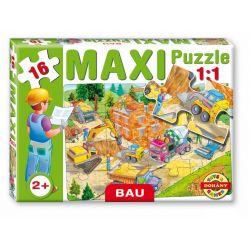 Maxi puzzle 16 dielov, stavenisko