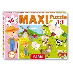 Maxi puzzle 16 dielov, farma