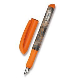 Bombičkové pero Schneider oranžové