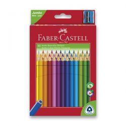 Farebné pastelky trojboké JUNIOR 30 farieb