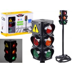 Veľký svietiaci semafor
