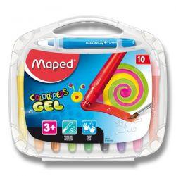 Gélové pastely Maped ColorPeps Gel, 10 farieb