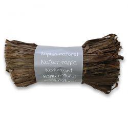 Prírodný darčekový povrázok, čokoládový