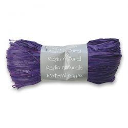 Prírodný darčekový povrázok, fialový