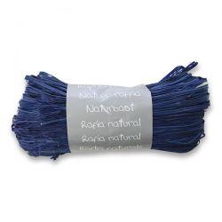 Prírodný darčekový povrázok, modrý