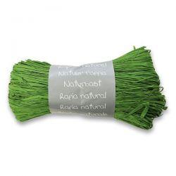 Prírodný darčekový povrázok, zelená