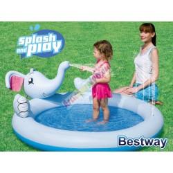 Bestway 53034 Nafukovací bazén, slon s fontánou