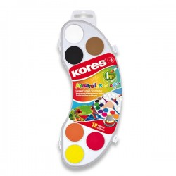 Vodové farby Kores...