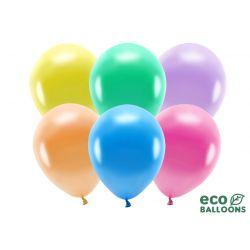 Balón 30cm ECO, metalické - mix