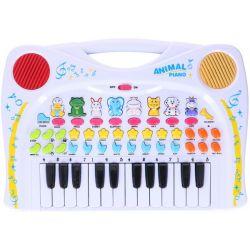 Detské piano so zvieratkami a nahrávkami
