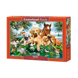 Castorland Puzzle Letní kamaráti, 500 dielov