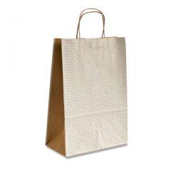 Darčeková tašky NATURA POIS L, biela