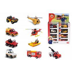 Požiarník Sam- kovové autíčko – rôzné modely