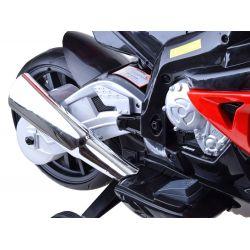 Elektrická motorka 2 x 12V, BMW S1000RR orig. licencia, 3 farby