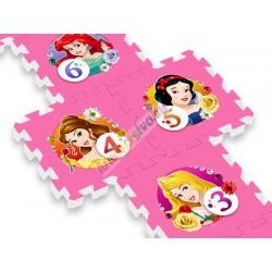 Veľké penové puzzle Disney Princezné – hra Panák