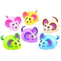 Naťahovacia myš, 6 farieb
