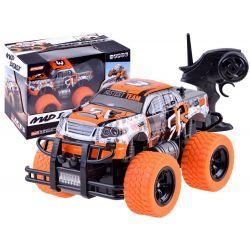 Auto Monster na diaľkové ovládanie oranžové