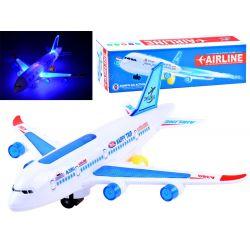 Osobné lietadlo so zvukom a svetlom