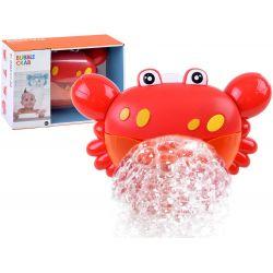 Bublinkový krab do kúpeľa, červený