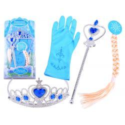 Set pre princeznú, modrý