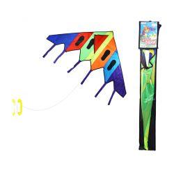 Farebný lietajúci šarkan 150 x 74 cm