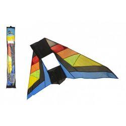 Veľký farebný šarkan DELTA 183x81 cm