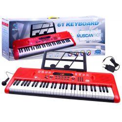 Piano s mikrofónom, 61 kláves