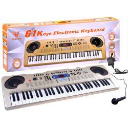 Piano s mikrofónom SD-6111A, 61 kláves