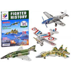 3D Puzzle Bojové lietadlá, 78 dielov