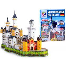 3D Puzzle Neuschwanstein Castle, 109 dielov